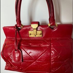 Red Marc Jacobs bag